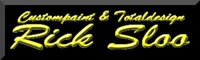 カスタムペイント Rick Sloo Webサイトロゴ